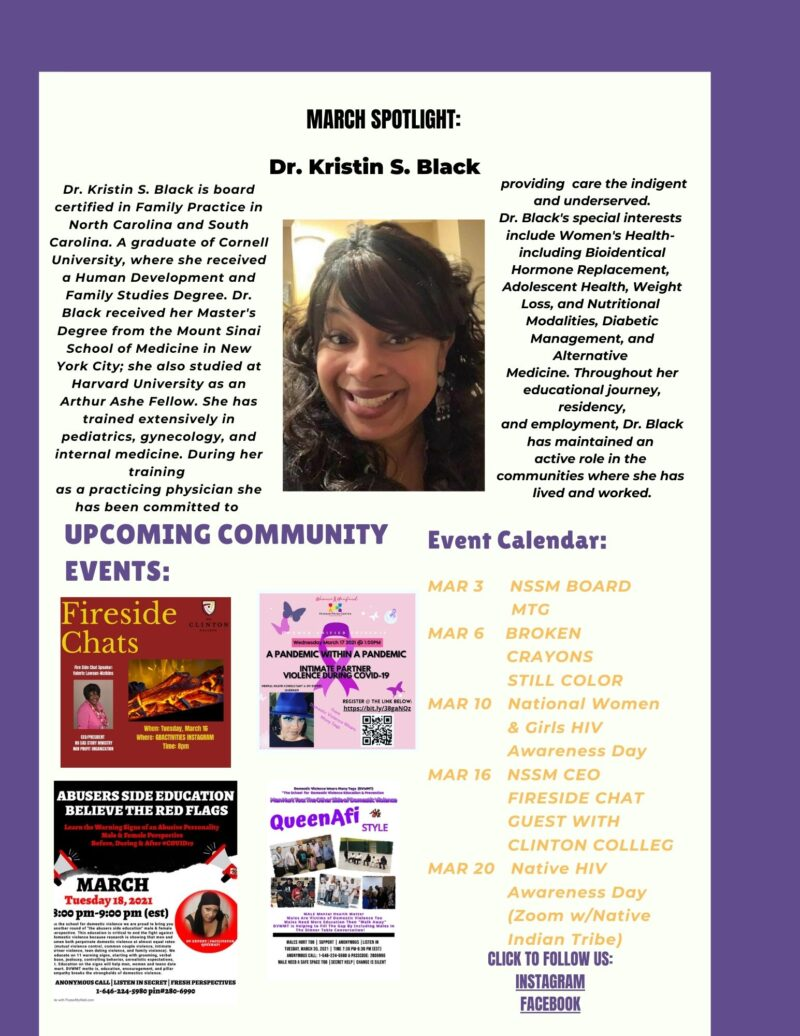 NSSM March Newsletter Page 2